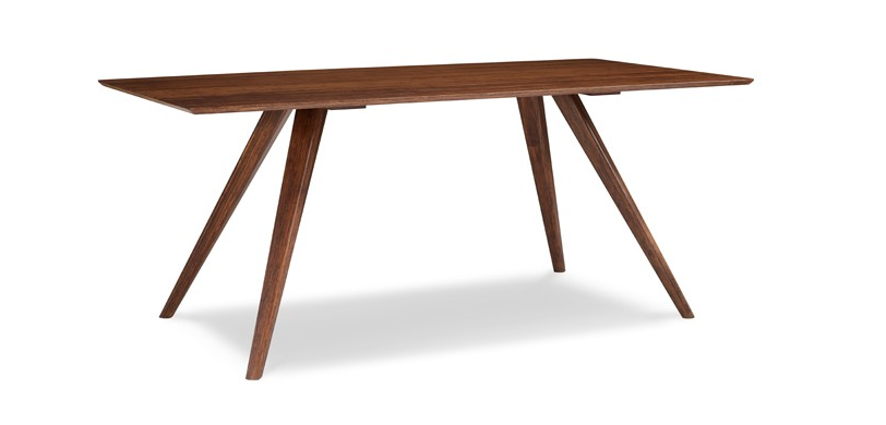 "Modern 100% Bamboo 72"" Executive Desk in Exotic Carmelized Finish"