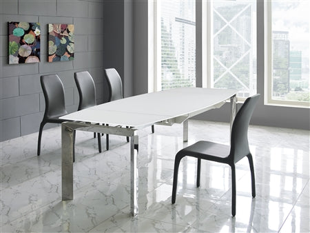 Guest or Conference Chair w/ Sleek Design in Dark Gray Eco-Leather