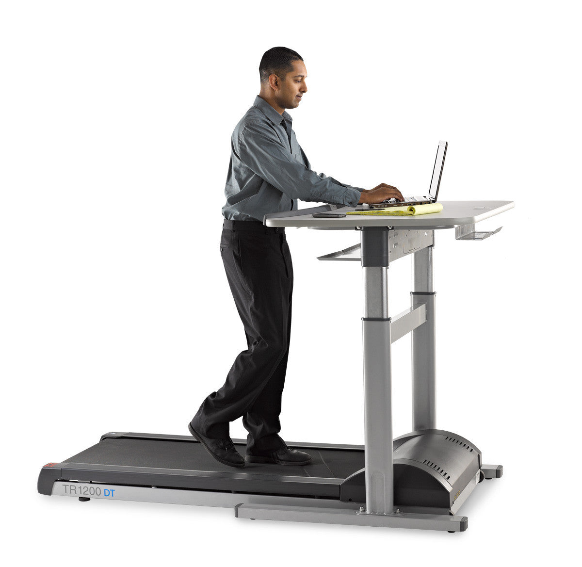 Premium Treadmill Desk Workstation with Automatic Height Adjustment by LifeSpan (TR1200DT7)