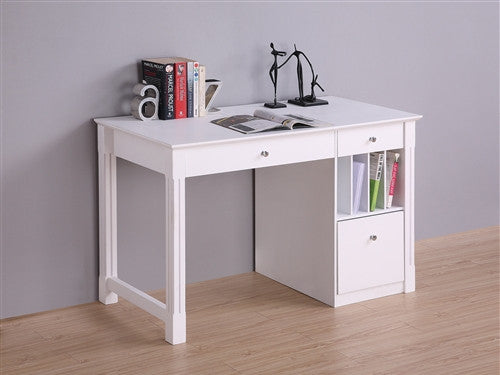48 Quot Solid Wood Desk With Optional Hutch In White