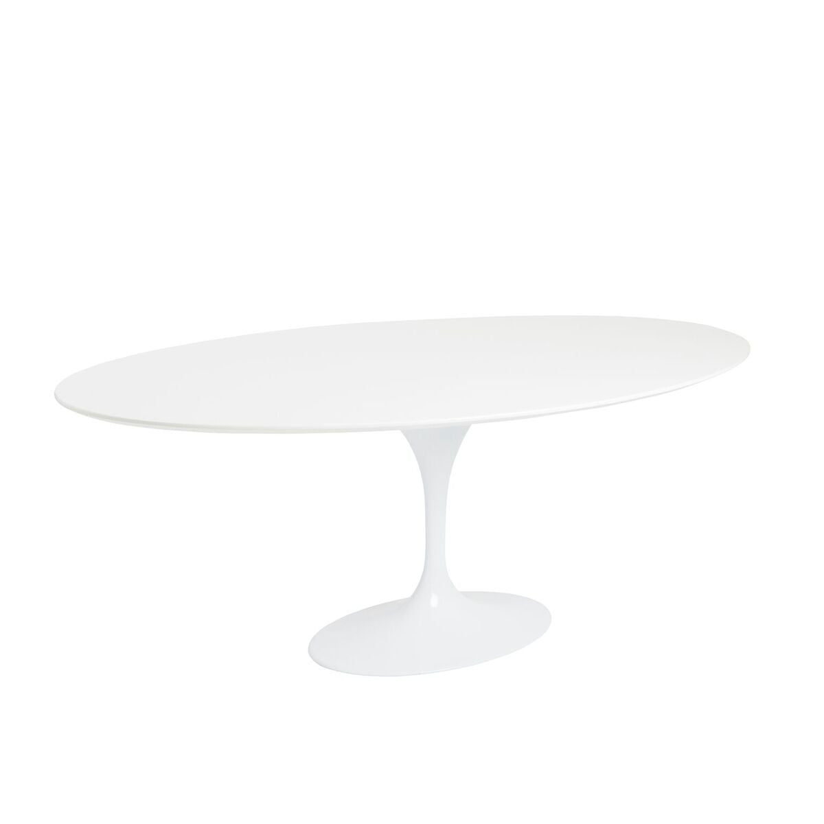 Picture of: Elegant White Lacquer Oval Conference Table Computerdesk Com