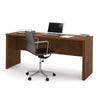 "Premium 71"" Narrow Office Desk in Tuscany Brown"
