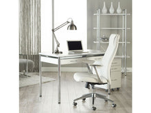 Load image into Gallery viewer, Crosby Modern White Leather High Back Office Chair