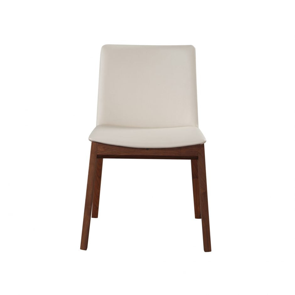 Contemporary White Guest or Conference Table Chair (Set of 2)
