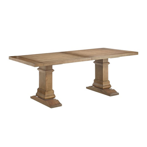 "Gamber 84"" Reclaimed Grey Conference Table"