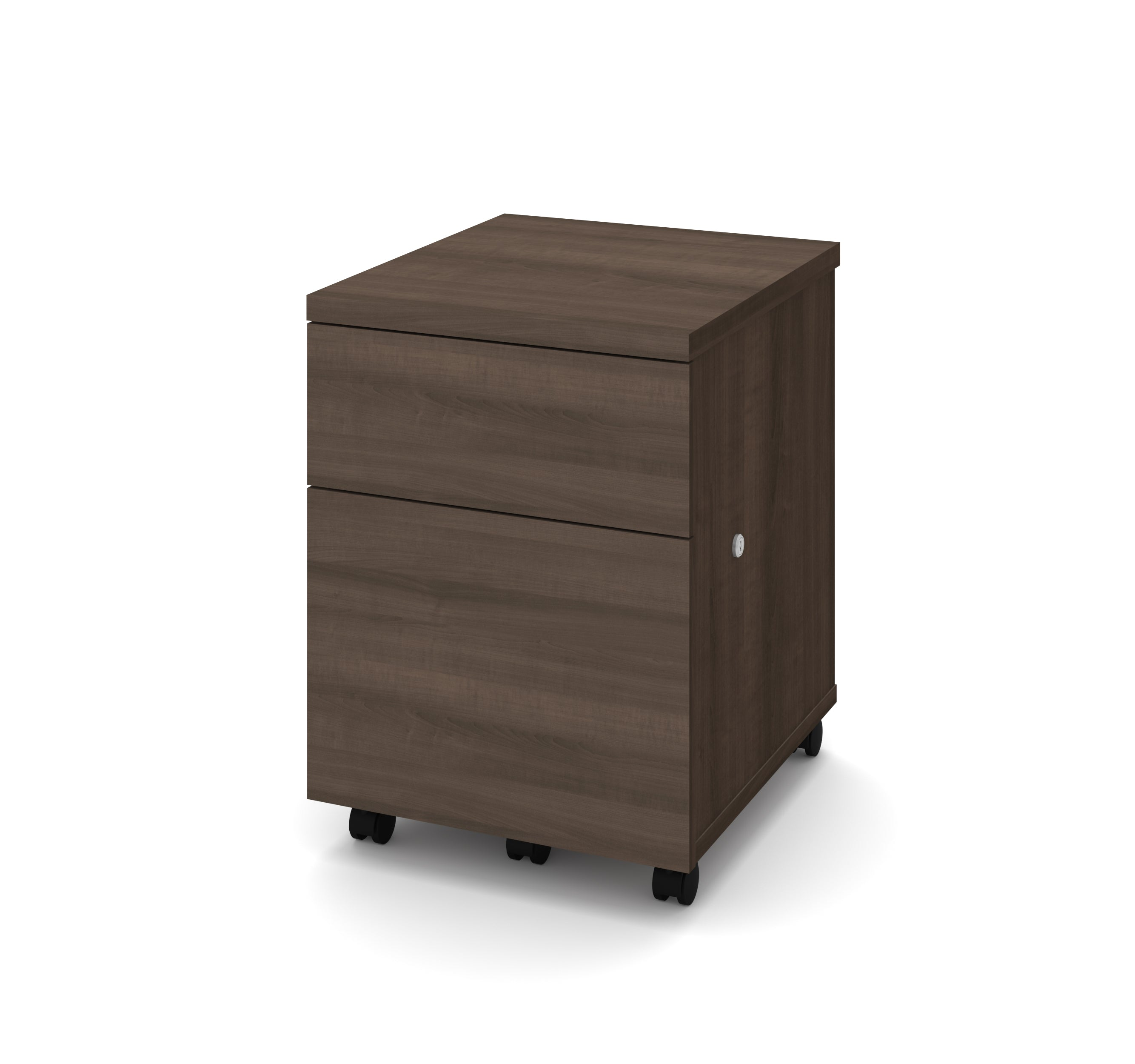 Antigua Mobile File Cabinet with Lock