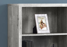 Load image into Gallery viewer, Traditional Office Bookcase in Grey Woodgrain