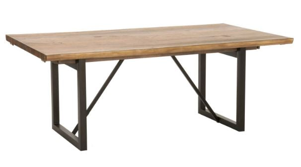 "78"" – 114"" Modern Timber Extension Conference Table"