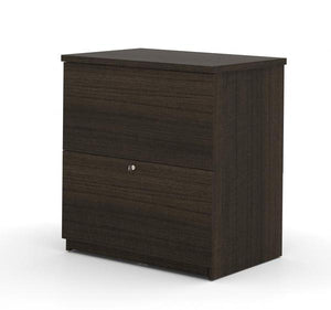 "Modern Narrow Dark Chocolate 66"" Office Desk"