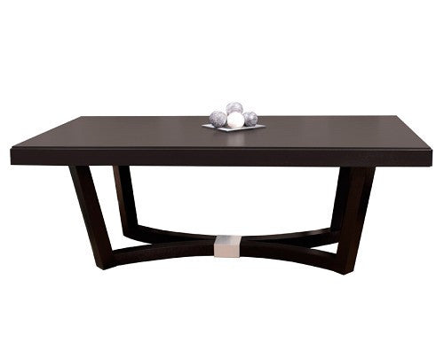 Modern Wenge Conference Table with Elegant Base & Optional Credenza