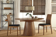 "Load image into Gallery viewer, Circular Walnut 53"" Conference / Meeting Table"