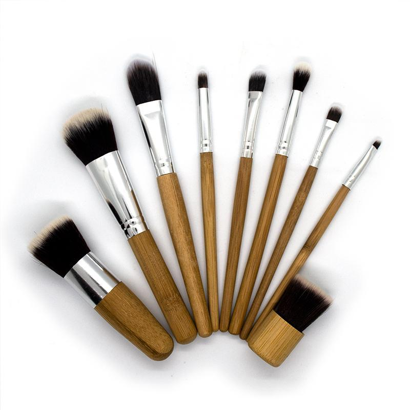 Bamboo Makeup Brushes (Full Set)