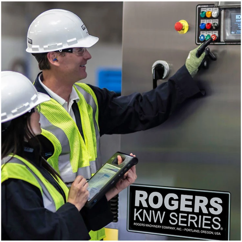 Rogers KNW Series Oil-Free Compressor built to last