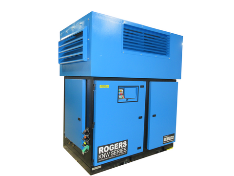 Rogers KNW Series Oil-Free Air Compressor single stage booster