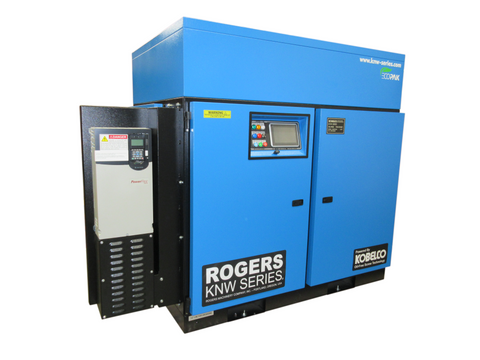 Rogers KNW Series Oil-Free Air Compressor VFD