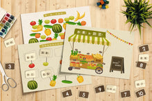 Load image into Gallery viewer, Fruits and Vegetables Stall Market Fun