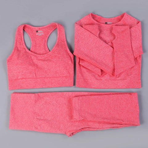 Yoga Set Women Workout Sport Wear