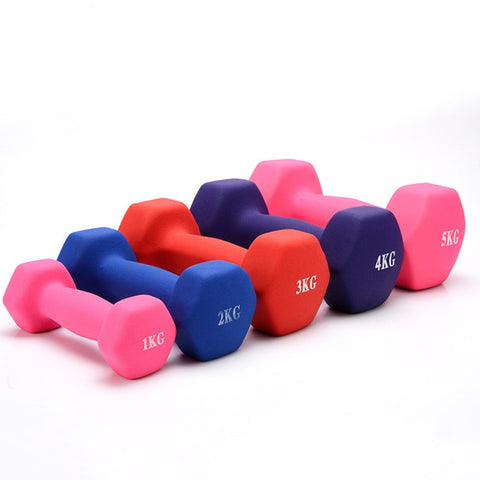 Women Dumbbell Hexagonal Dumbbell Weight