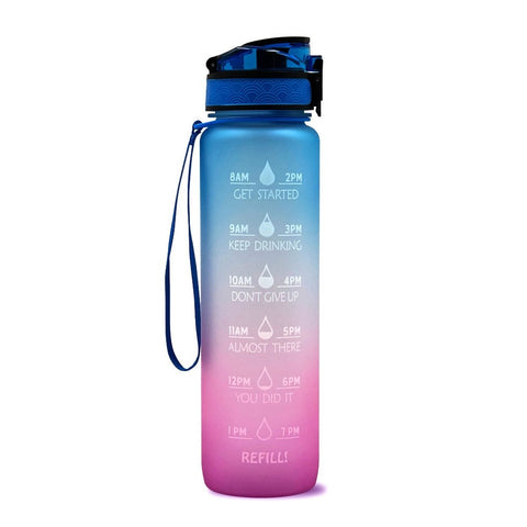 1L Plastic Water Bottle Frosted