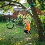 Outdoor Swing Rings Gymnastic