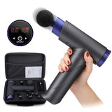 Massag Electric Muscle Massage Gun LCD 8 Head 22 Speed Body Messager