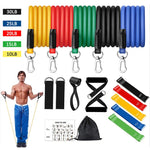 16Pcs/Set Pull Rope Fitness Exercises Resistance Bands