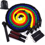 11 Pcs/Set Resistance Bands Crossfit