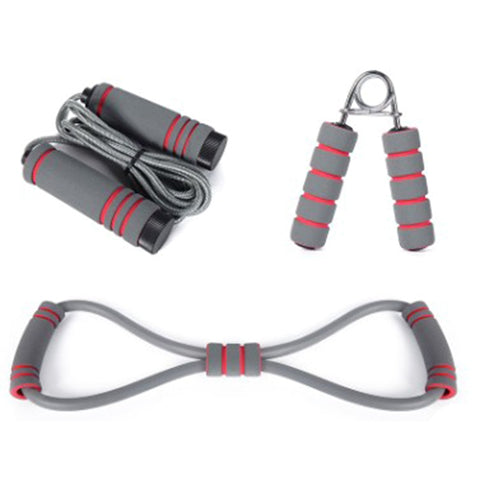 3 Piece FitnessJump Rope&Hand Gripper&Resistence