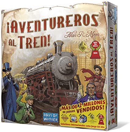 Aventureros al Tren (Ticket to ride)