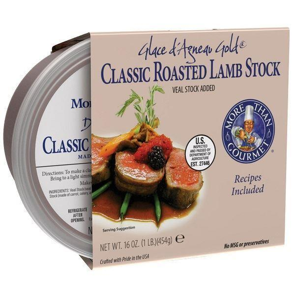 Base More Than Gourmet Roasted Lamb Stock 1lbs
