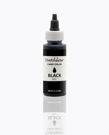 Color Chefmaster Candy Black 2oz