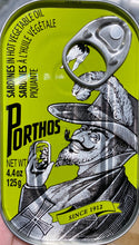 Load image into Gallery viewer, Porthos Sardines Spicy 4.4oz