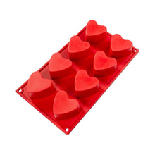 Load image into Gallery viewer, Baking Silicone Mold Heart (8)
