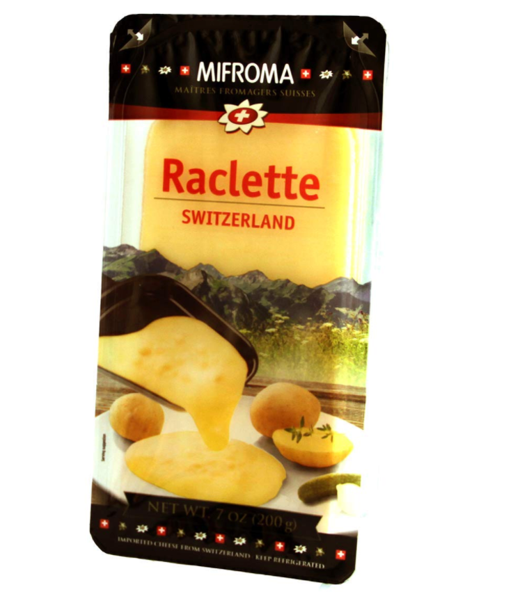 Miforma Raclette Cheese Sliced 7oz