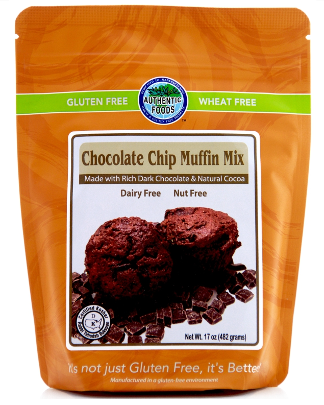 Authentic Foods Chocolate Muffin Gluten Free
