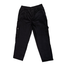Load image into Gallery viewer, Chef Pants Cargo Black, S