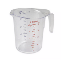 Load image into Gallery viewer, MEASURE CUP POLY 1 QT
