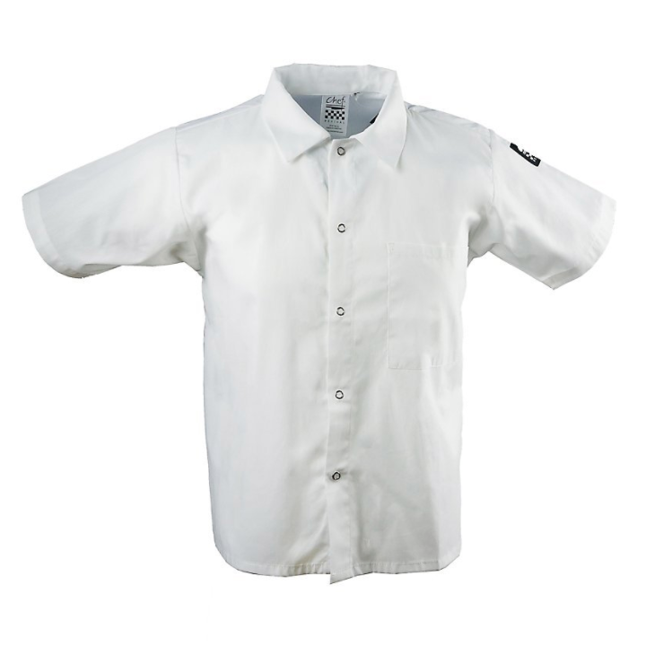 Cook Shirt White, S