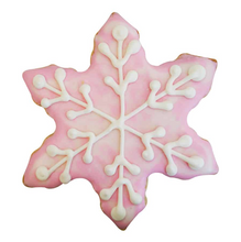 Load image into Gallery viewer, Cookie Cutter Snowflake 3""