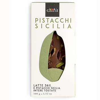 Giraudi Milk Pistachio Chocolate