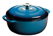 Load image into Gallery viewer, DUTCH OVEN ENAMEL 7.5QT BLUE
