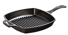 Load image into Gallery viewer, Grill Pan Iron Sq 10.5 inch