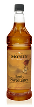 Load image into Gallery viewer, Syrup Monin Honey Sweetener 1Ltr