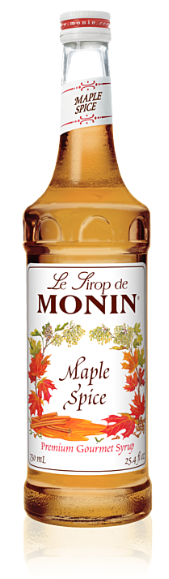 Syrup Monin Maple Spice 750ml