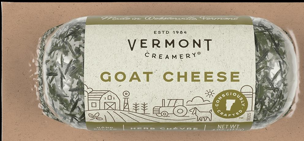 Cheese Vermont Herb Goat Log