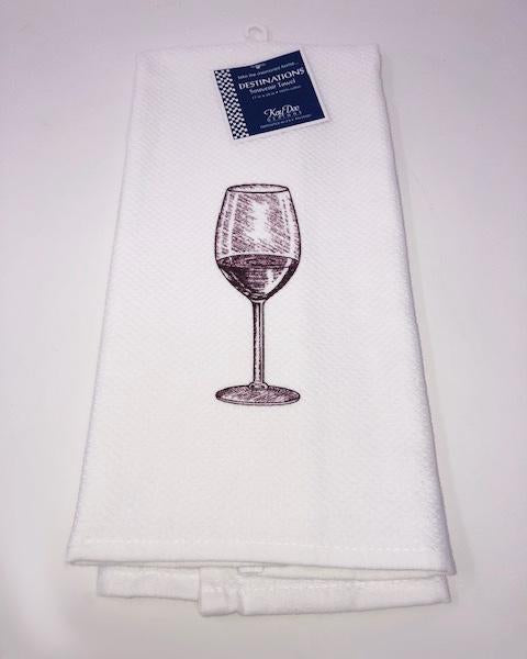 Kitchen Towel Wine Glass