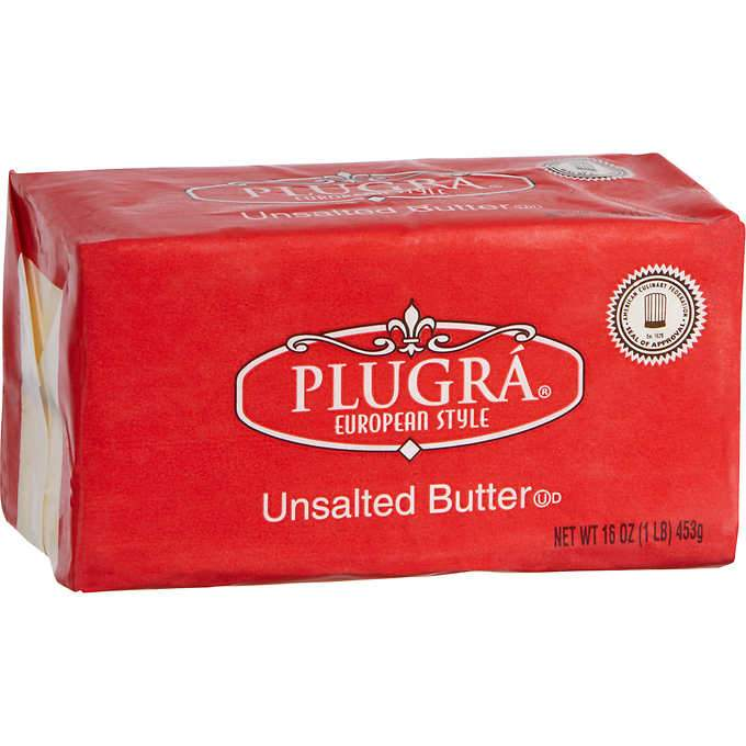 Butter Plugra Unsalted 1Lb