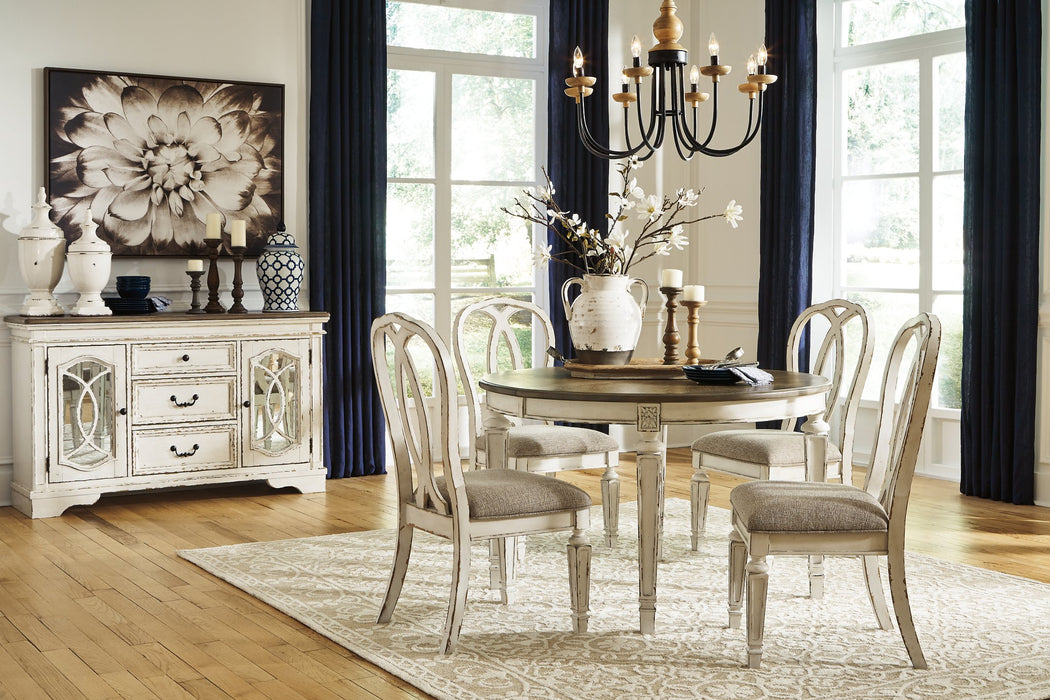 Realyn Signature Design by Ashley Dining Table