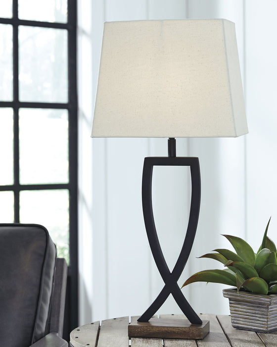 Makara Signature Design by Ashley Table Lamp Set of 2