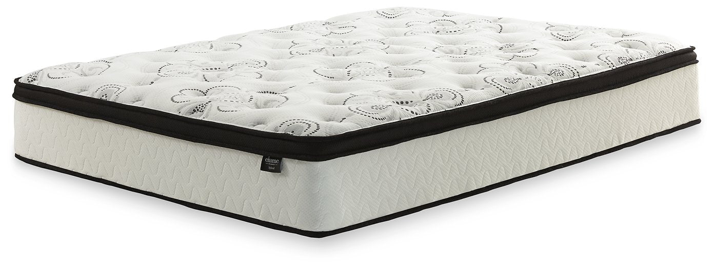 Chime 12 Inch Hybrid Sierra Sleep by Ashley Hybrid Mattress